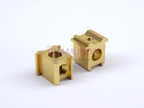 Brass HRC Fuse Contacts