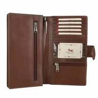 Brown Leather Documents Holder