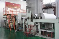 high-efficiency small white top paper coating / white board liner paper machine