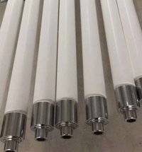 Quartz ceramic roller for glass tempering furnace