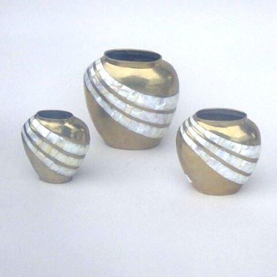 Brass Vase set