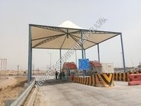 Toll Plaza Tensile Structure Shed