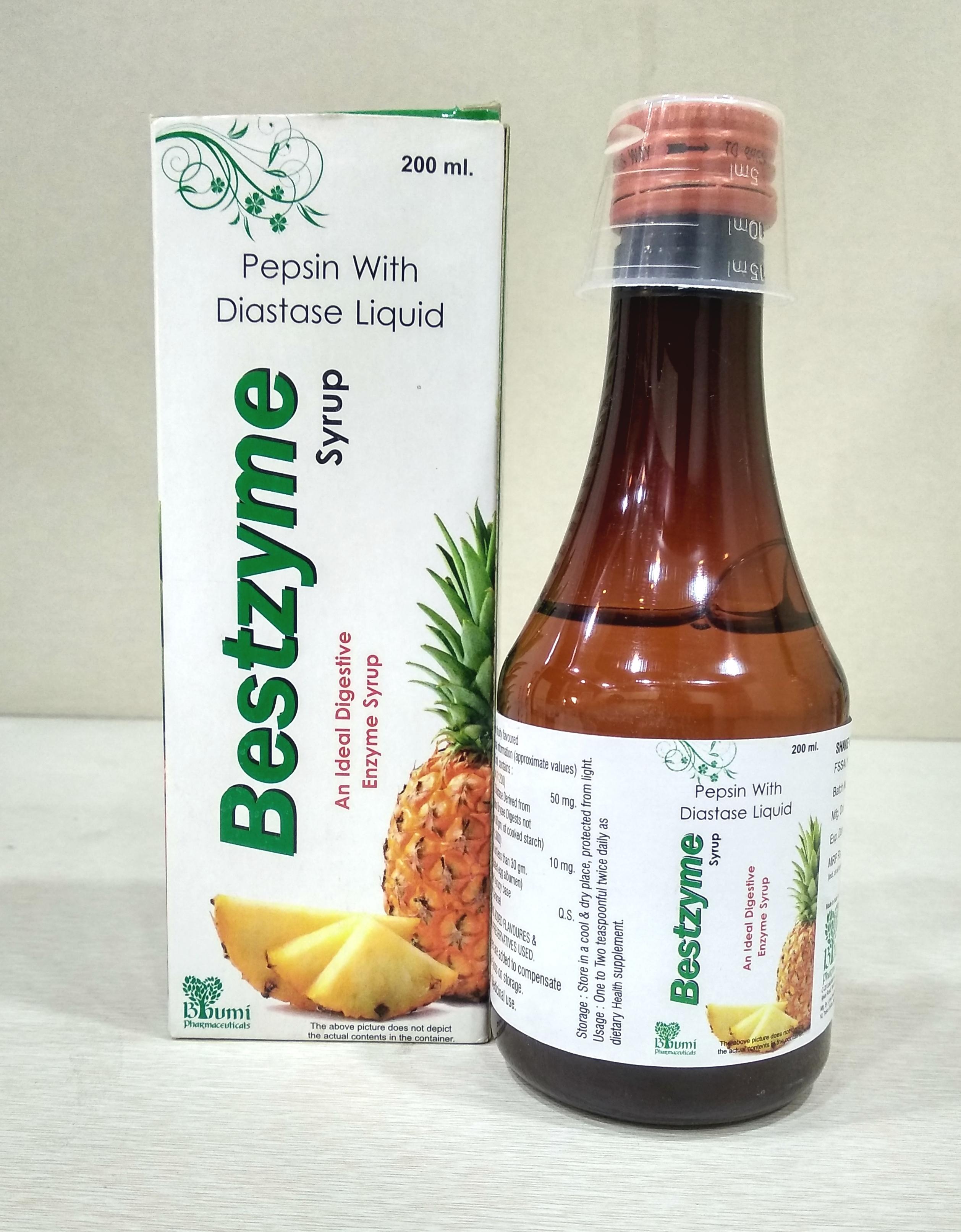 Diastase + Pepsin