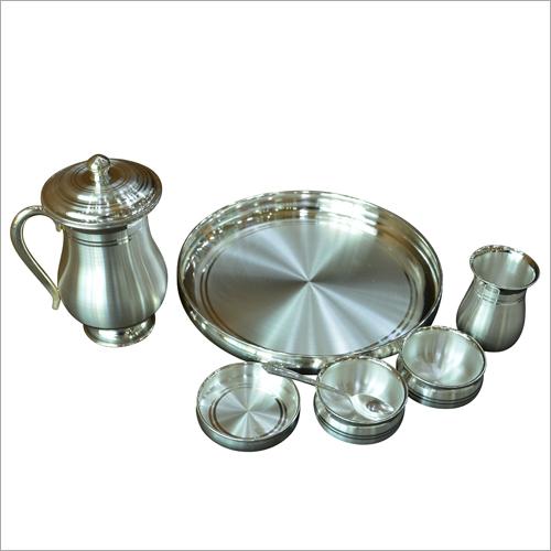 Designer Silver Dinner Set