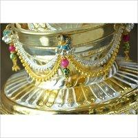 Silver Puja Kalash