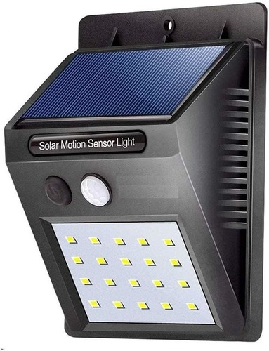 Solar Powered Motion Sensor Panel Light