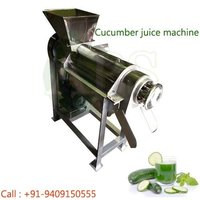 cucumber juice machine
