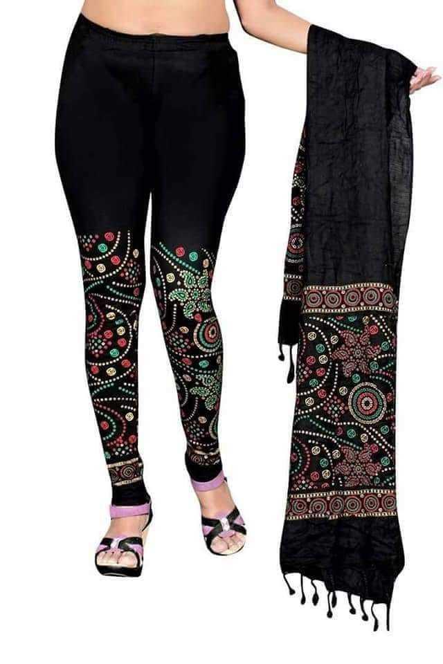 leggings and duptta