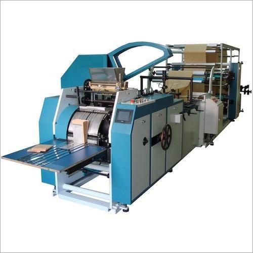 High Speed Paper Bag Making Machine