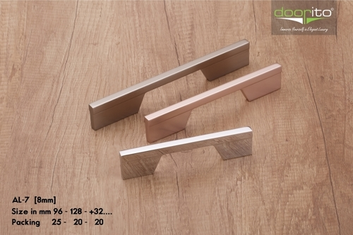 Brushed Chrome cabinet handles