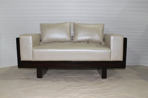 Royal Leather Two Seater Sofa