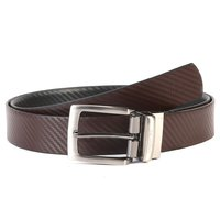 Men Pu Leather Reversible Belt
