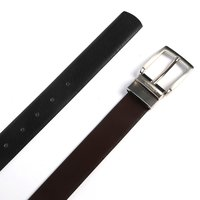 Black & Brown Men's Reversible Belt