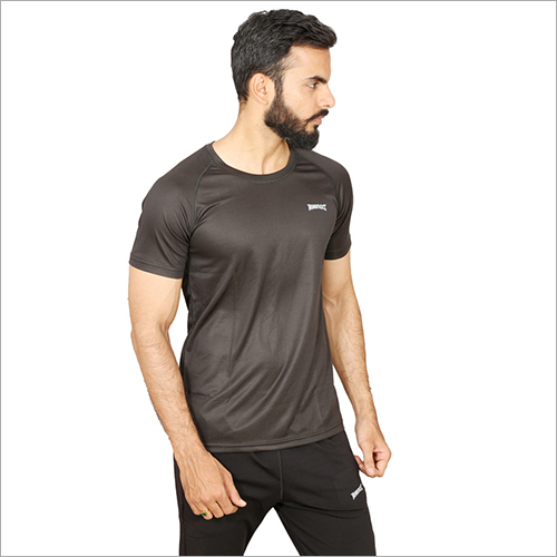 Mens Dry Fit Plain T-Shirt