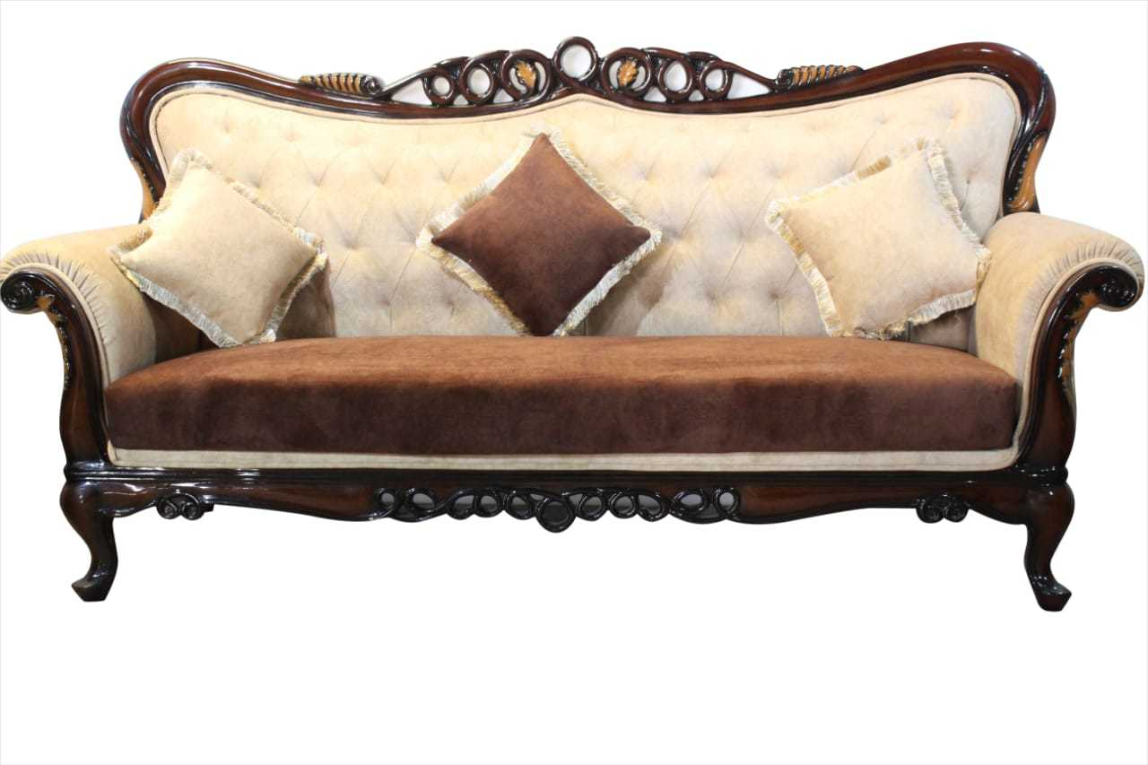 Royal Furnished Three Seater Sofa