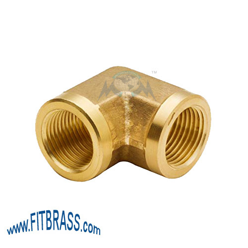 Brass Elbow Female