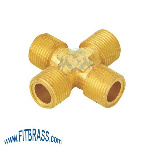 Brass Fourway Male