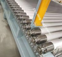 Fused silica roller for glass tempering furnace