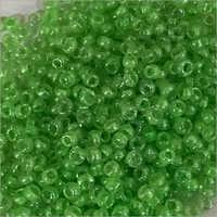 Green Inside Beads