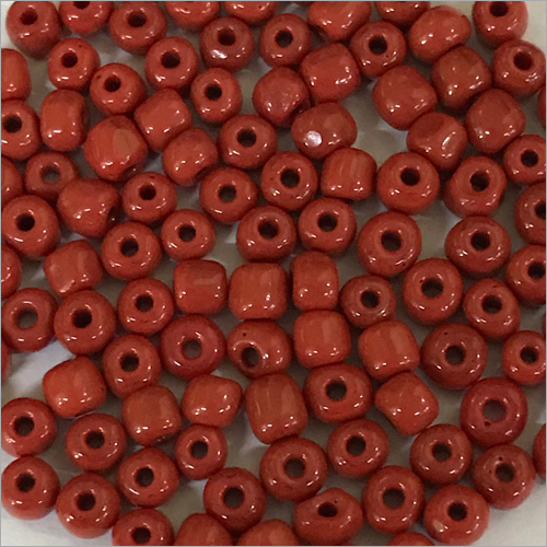 Red Opec Beads