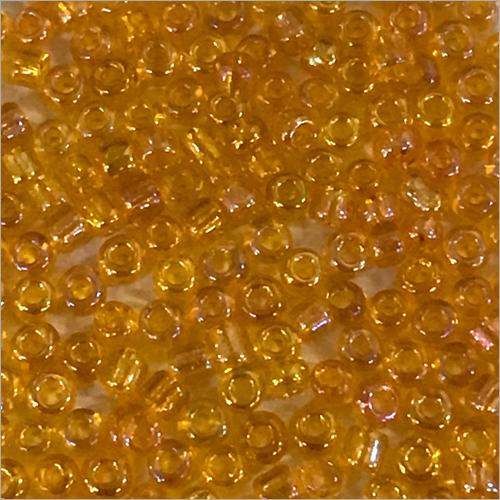 Orange Rainbow Beads