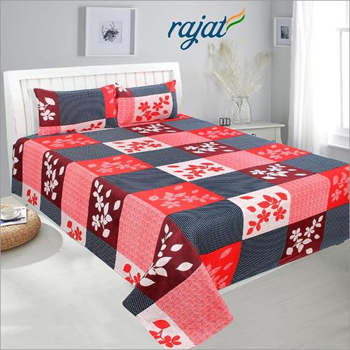 Floral 3D Printed Bed Sheet