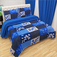 Designer Floral Print 3D Bed Sheet
