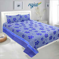 Double Size Floral Print 3D Bed Sheet