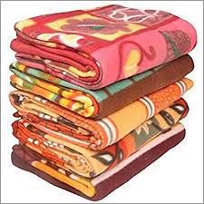 Multicolor Polar Fleece Blanket
