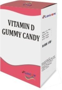 Vitamin D Gummy Candy