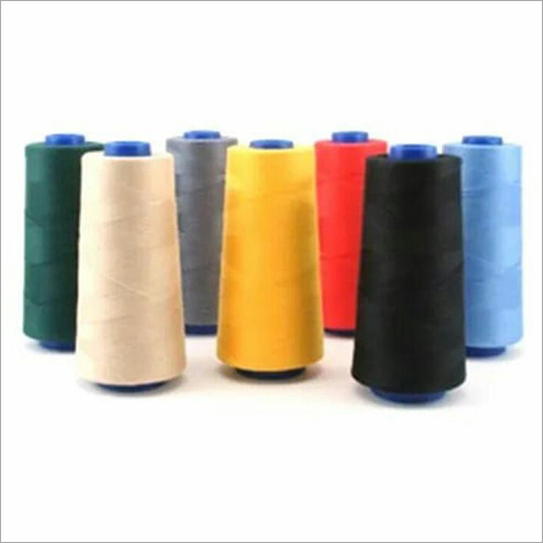 100% Polyester Dyed Yarn