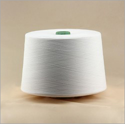 White Polyester Spun Yarn