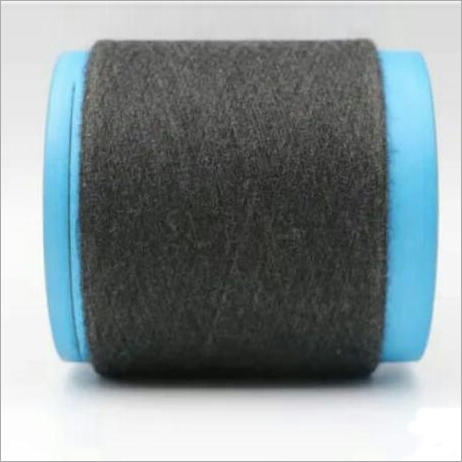 Black Melange Yarn