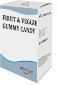 FRUIT AND VEGGIE GUMMY CANDY