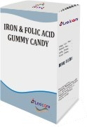 Iron And Folic Acid Gummy Candy