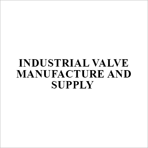 Industrial Water Valve
