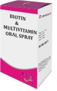 Biotin And Multivitamin Oral Spray