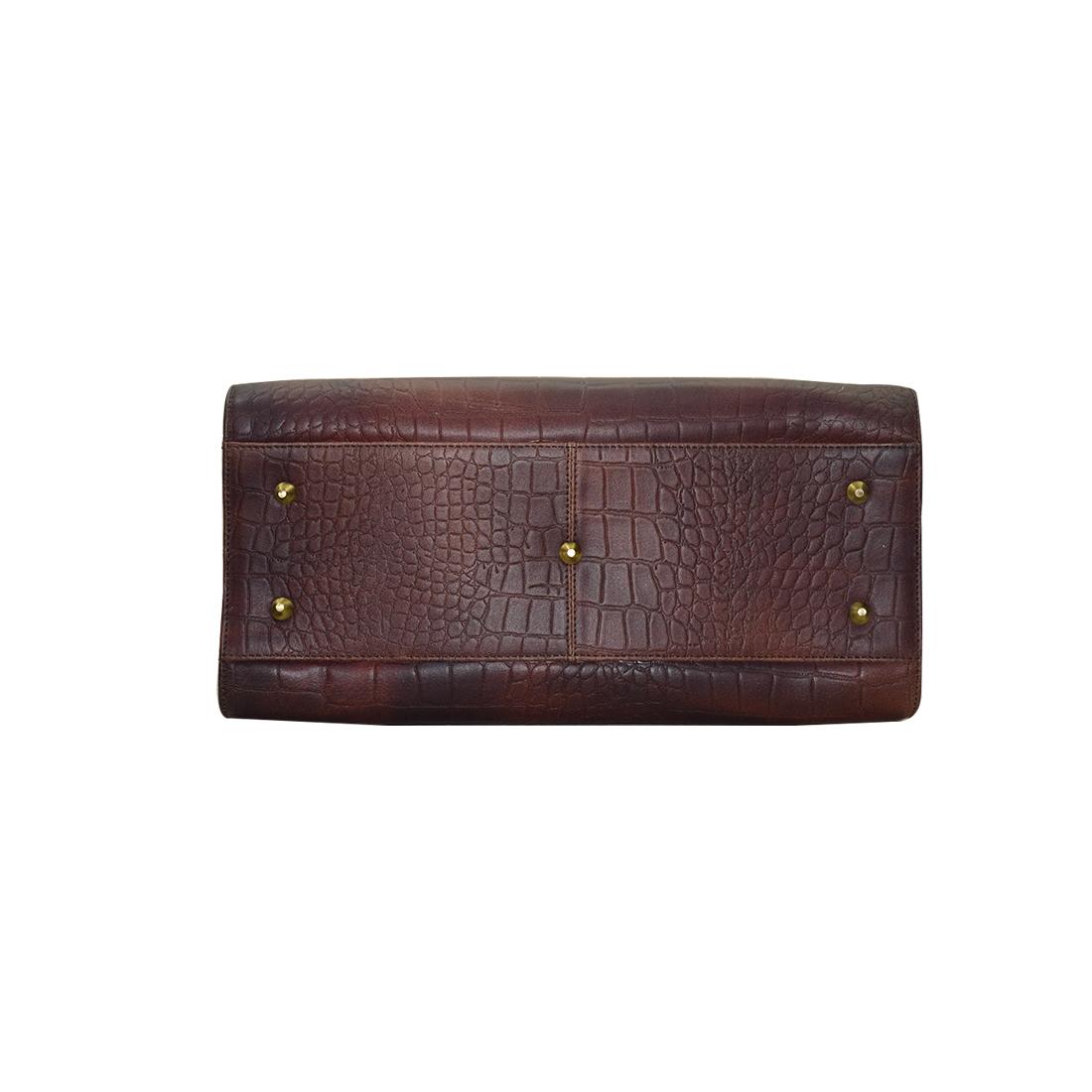 Leather Shoulder Office College Bag