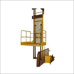 Hydraulic Lift Single Mast