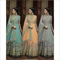 Latest Heavy Embroidered Anarkali Suit