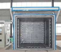 variable pressure vacuum drying furnace for transformers active parts