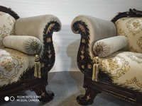 Antique Seven Seater Sofa Set