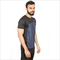 Mens Half Sleeves Sports T-Shirt