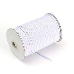 White Elastic Thread Roll