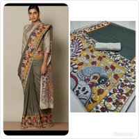 Designer Silk Cotton printed Saree