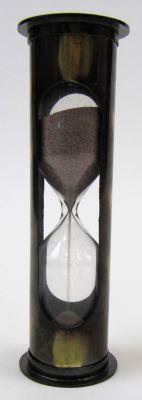 Antique Brass 5-min Timer Purple Sand