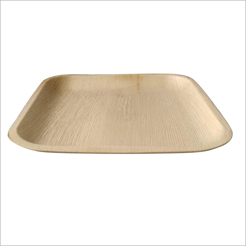Areca Leaf Plate / Square / 10 inch / Shallow