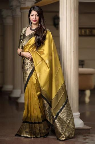 Latest Weaving Silk Jaquard Saree