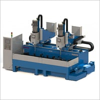 Double Spindles Cantilever Type Drilling Machine