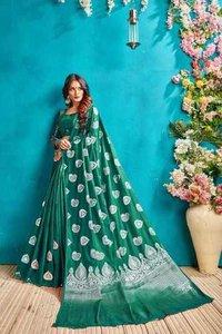 Designer Banarasi Jaquard saree
